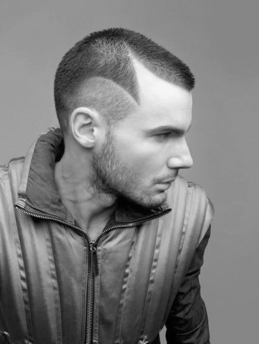 Thin Hair Buzz Cut For Men