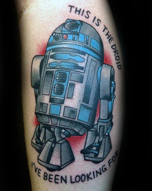 This Is The Droid Rd2d Mens Arm Tattoos
