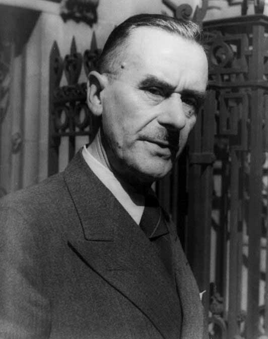 Thomas Mann With Classy 1930s Haircut For Males