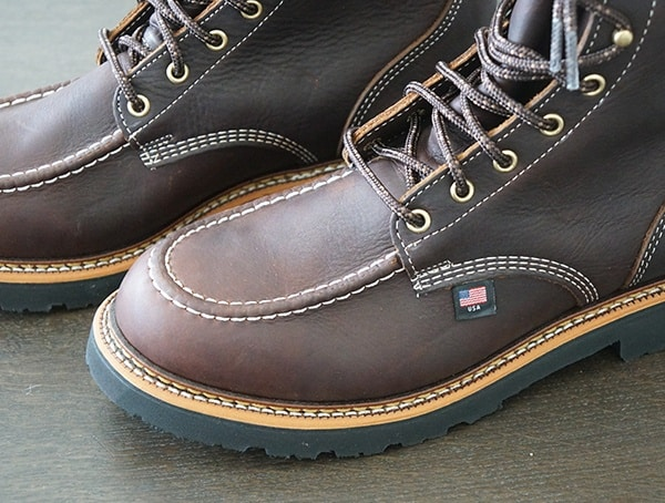 Thorogood 1957 Series Flyway Boots Toe Detail