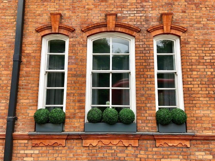 Three Exterior Window Trim For Brick Homes