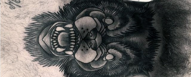 80 Throat Tattoos For Men – Cool Masculine Design Ideas