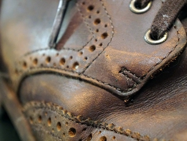 Thursday Boot Company Wingtip Boots Review Close Up Detail