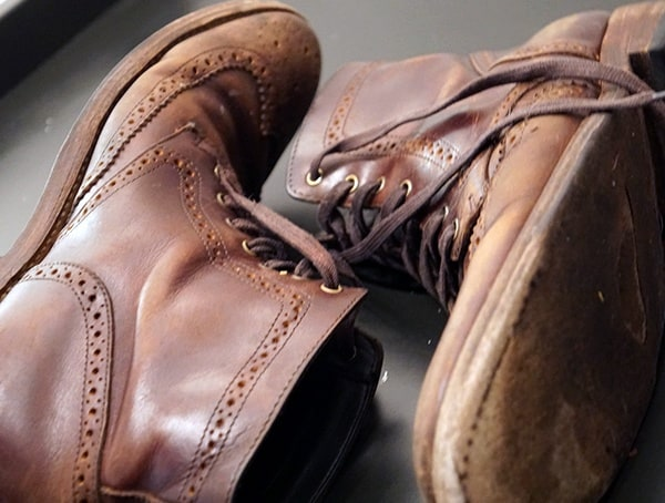Thursday Boot Company Wingtip Boots Review Side View