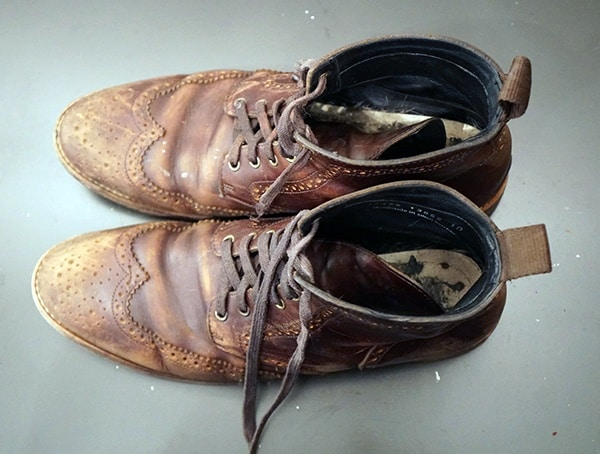 Thursday Boot Company Wingtip Boots Review Top View