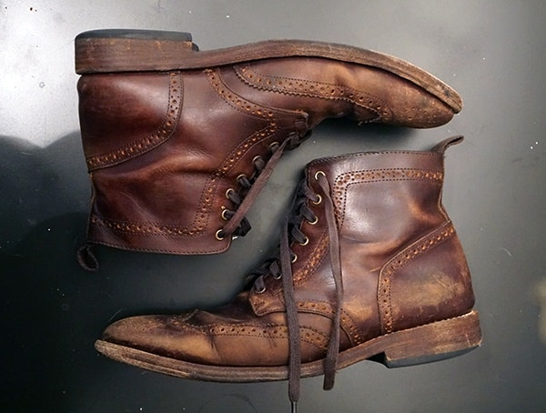 Thursday Boot Company Wingtip Boots Review Wear After Six Months Of Usage
