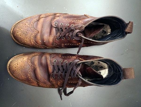 Thursday Boots Wingtip Brown