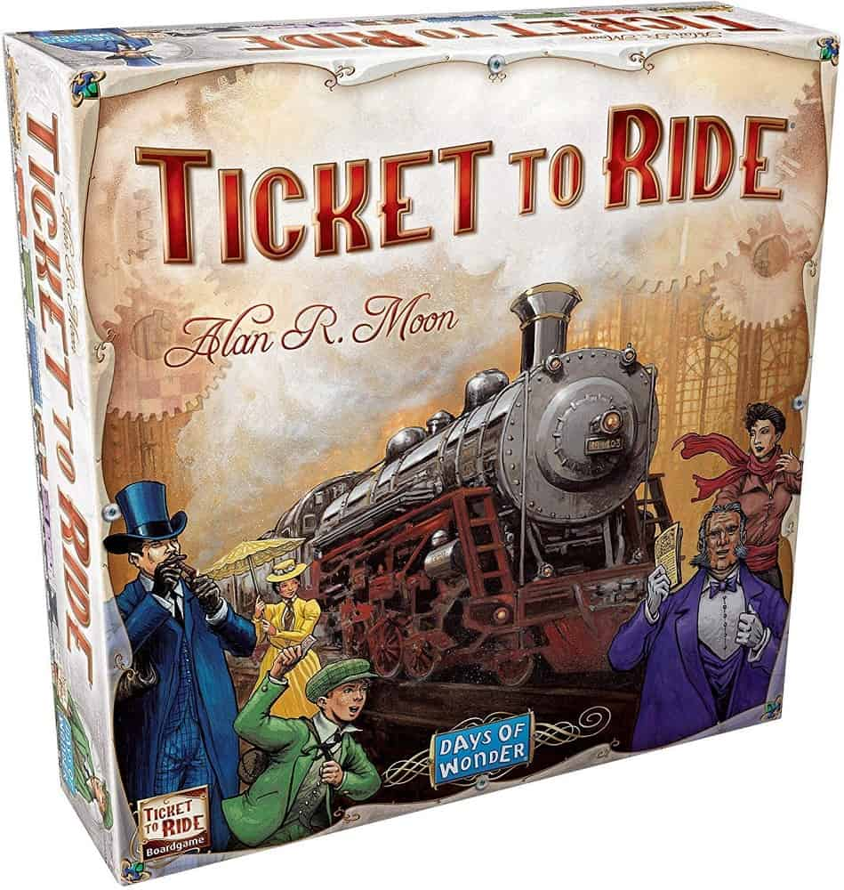 days of wonder ticket to ride play with alexa