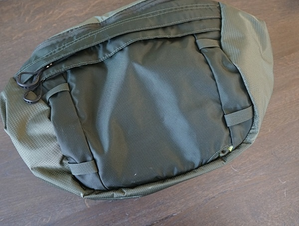 Tie Down Loops At Top Of Osprey Aether Ag 85 Pack