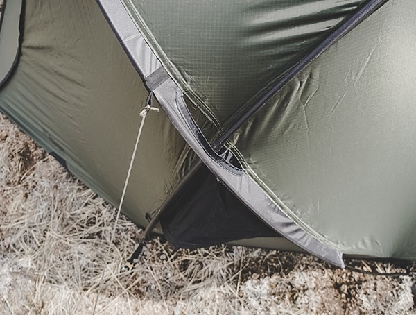 Tie Down Snugpak Scorpion 3 Tent Review