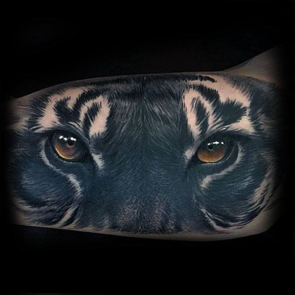 Tiger Eyes Guys Tattoo Ideas