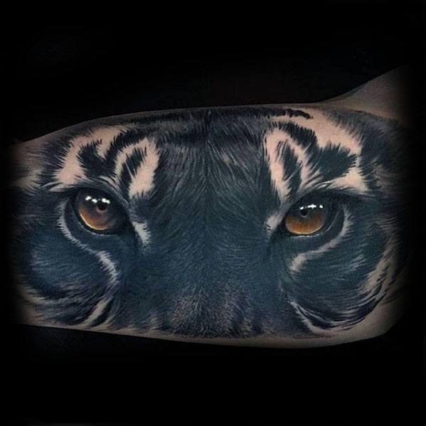 Tiger Eyes Guys Tattoo Ideas