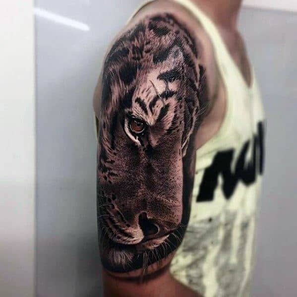 Tiger Greatest Mens Tattoo Ideas