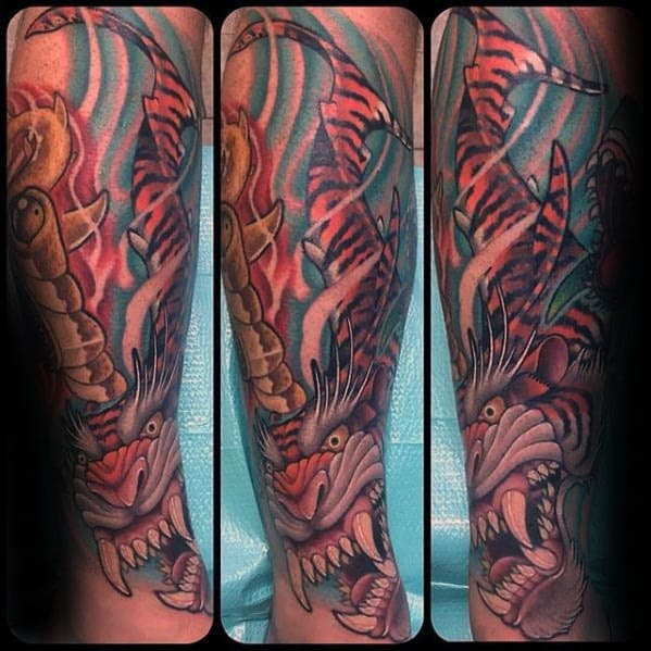 Tiger shark tattoo bad ink - photo#47