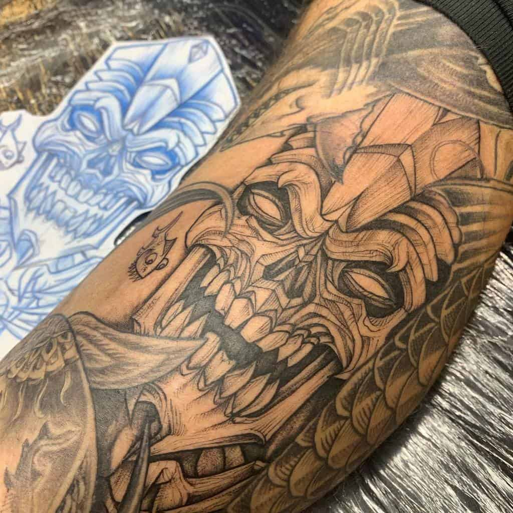 Tiki Mask Tiki Tattoo Caspianator