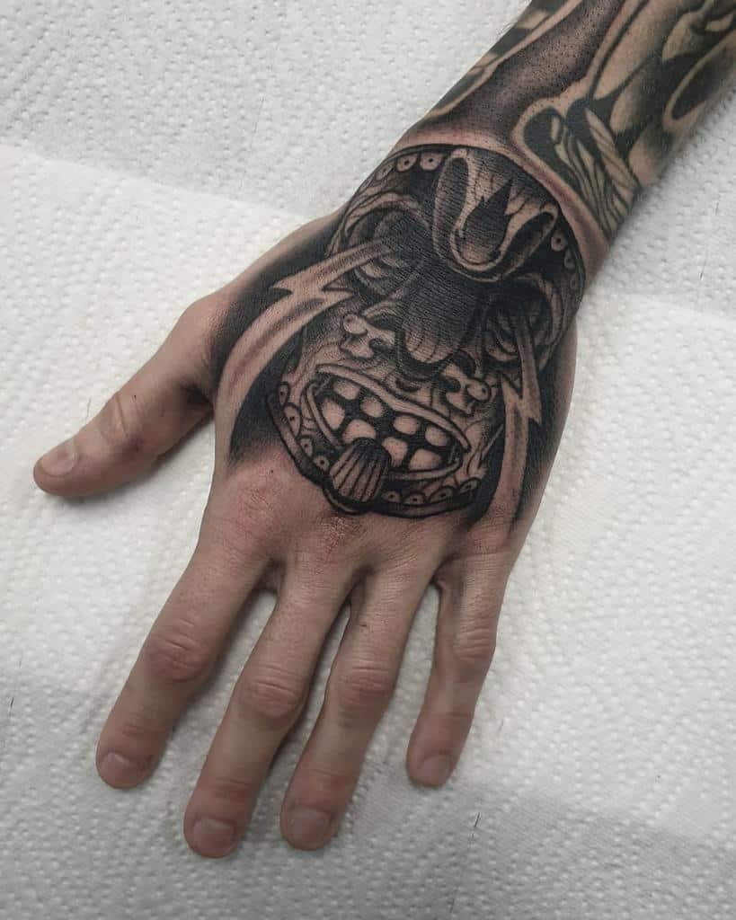 Tiki Mask Tiki Tattoo Floweisstattoo