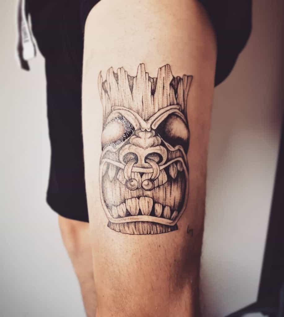 Tiki Mask Tiki Tattoo Le Labo D Elo