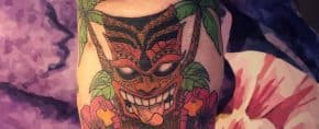 Top 63 Best Tiki Tattoo Ideas-[2020 Inspiration Guide]