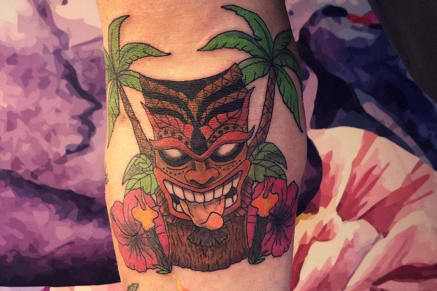 Top 60+ Best Tiki Tattoo Ideas-[2021 Inspiration Guide]