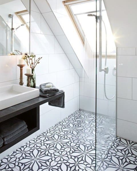 Tile Bathroom Shower Wall