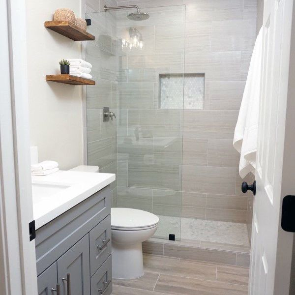 grey bathroom tile ideas