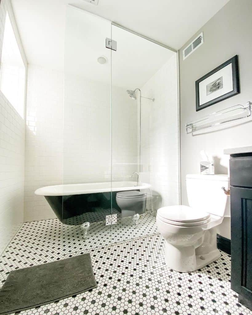 Tile Ideas For Basement Bathroom My Victorian Rehab