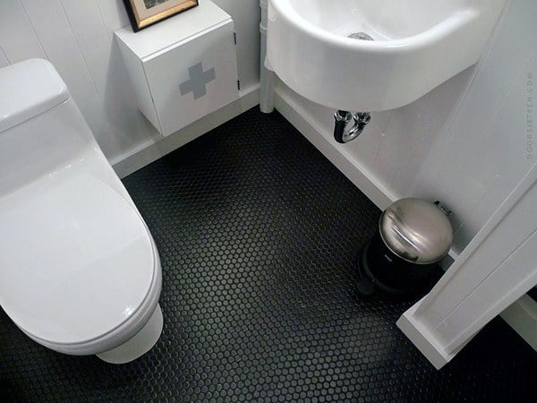 Tile Patterns For Bathroom Floor