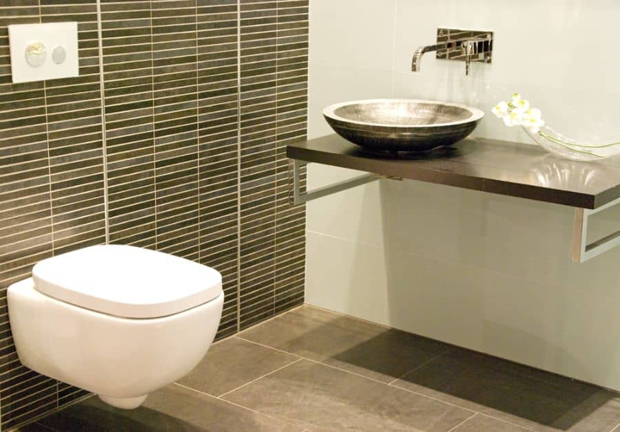 Tile Small Powder Room Ideas 2