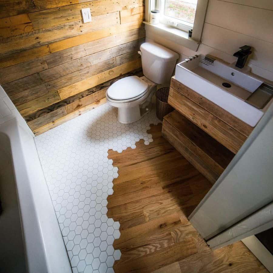 Tile Tiny Bathroom Ideas Woodandheartco