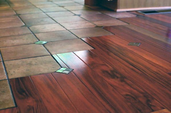 Tile To Hardwood Flooring Transition Design Inspiration