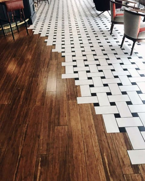 Tile To Hardwood Flooring Transition Ideas