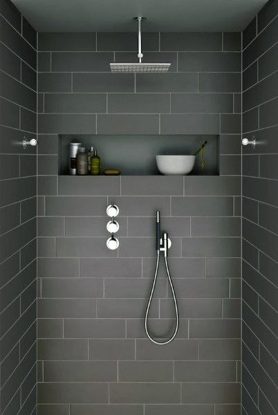 Tiled Bathroom Showers