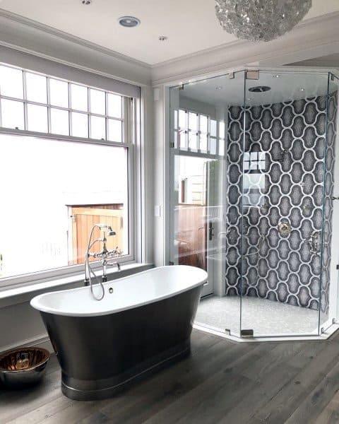 luxury black and white bathroom ideas