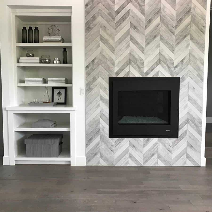 Tiles Or Concrete Wall Accent Wall Ideas
