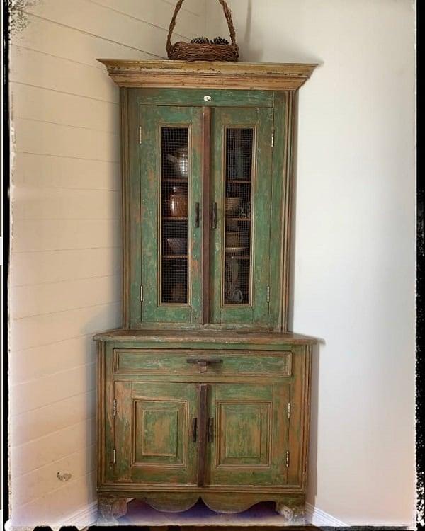 Timber Furniture Corner Cupboards Curio Cabinets Bohemian Farmhouse Love