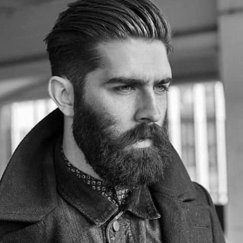 Timeless Old School Medium Men Hair Styles