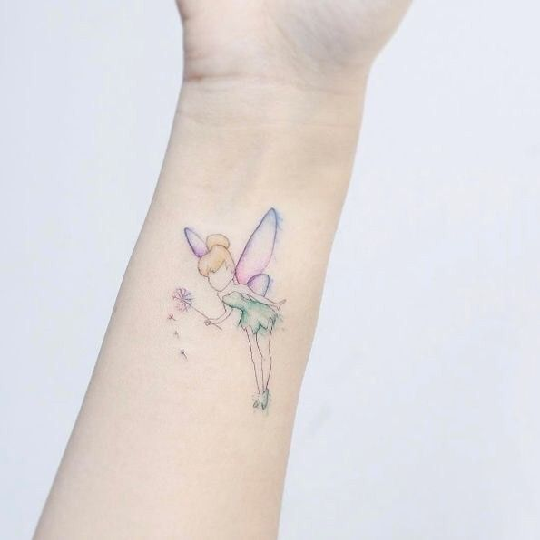 Tinkerbell Disney Fairy Tattoo