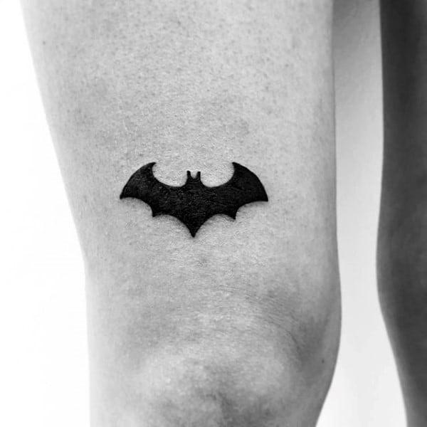 4ccbedf97 50 Batman Symbol Tattoo Designs For Men - Superhero Ink Ideas