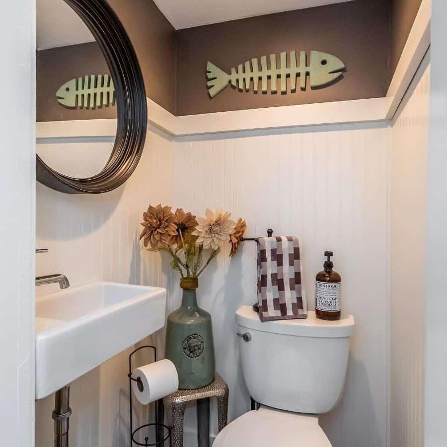 Tiny Powder Room Bathroom Ideas Shesellsscottsdale