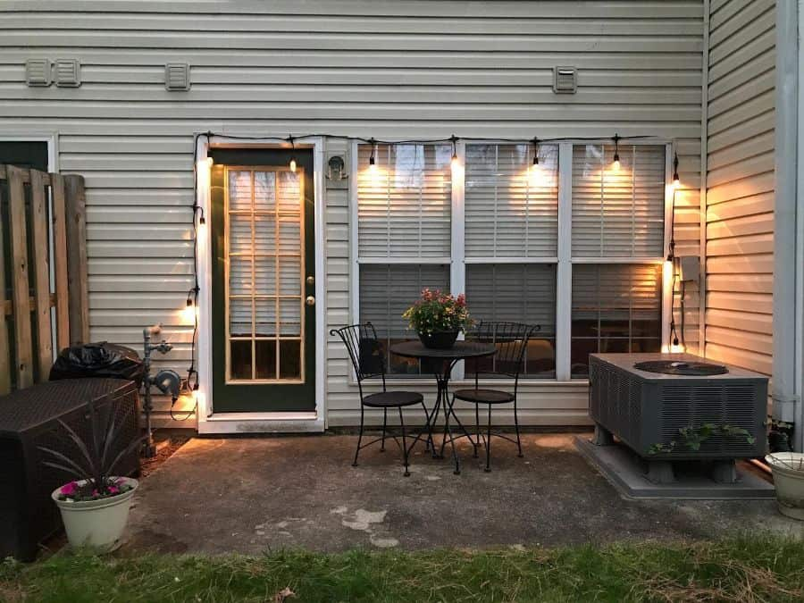 Tiny Small Patio Ideas Lisa In Va