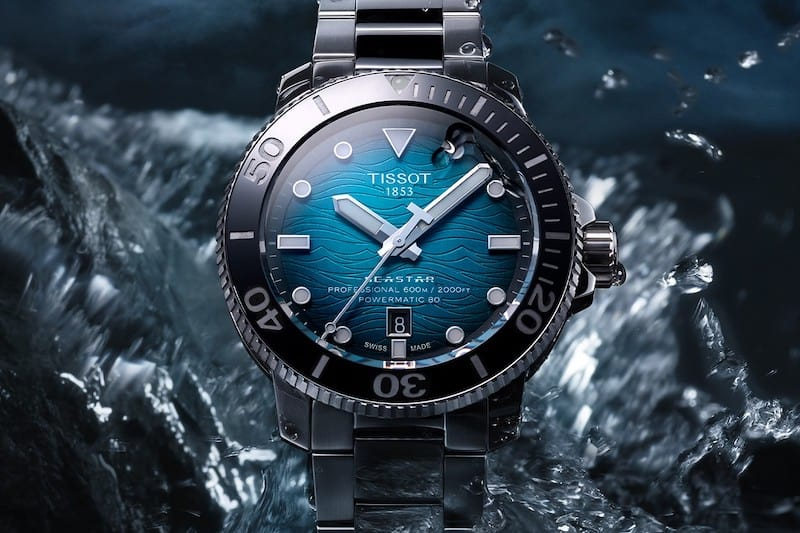 Tissot Reaches New Level With the Seastar 2000 Professional