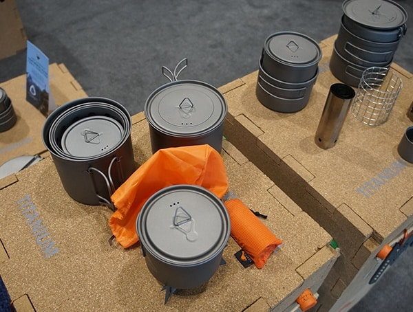 Titanium Cooking Pots For Camping Toaks