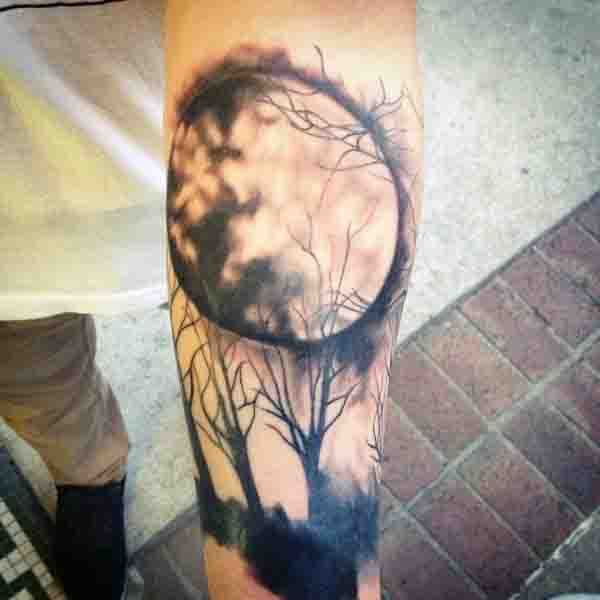 Top 85 Moon Tattoo Ideas 2020 Inspiration Guide