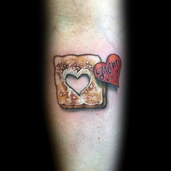 Toast Tattoo Design Ideas For Men