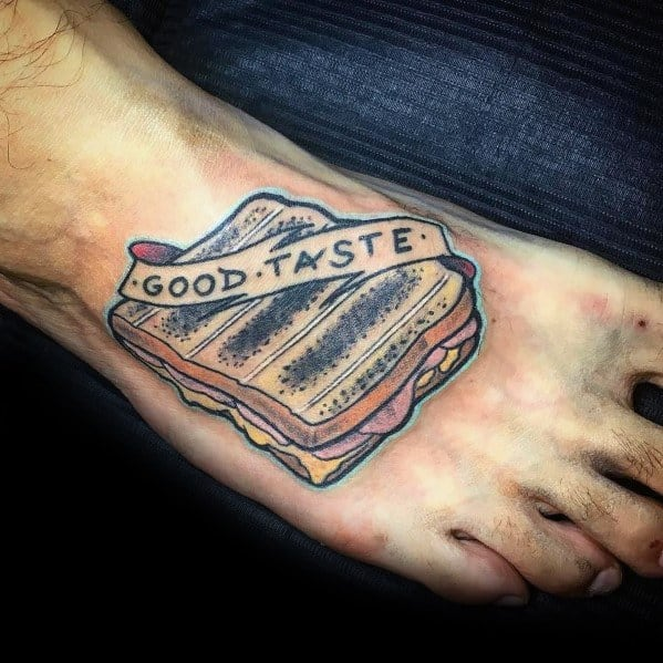 Toast Tattoos For Men