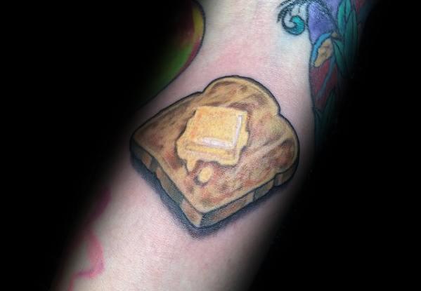 Toast Themed Tattoo Ideas For Men