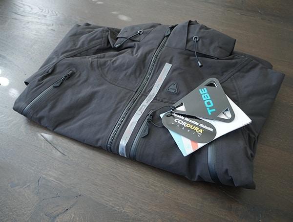 Tobe Novo Jacket Cf Black Front