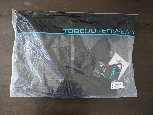 Tobe Outerwear Packaging