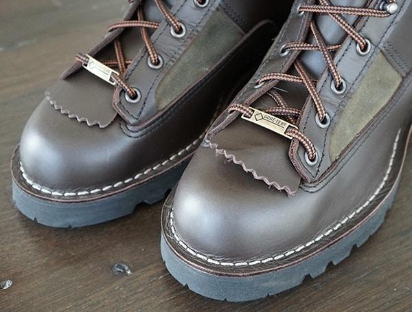 Toe Detail Filson X Danner Grouse Boots For Men