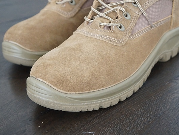 Toe Detail Od 30 Mens A3 Combat Boots